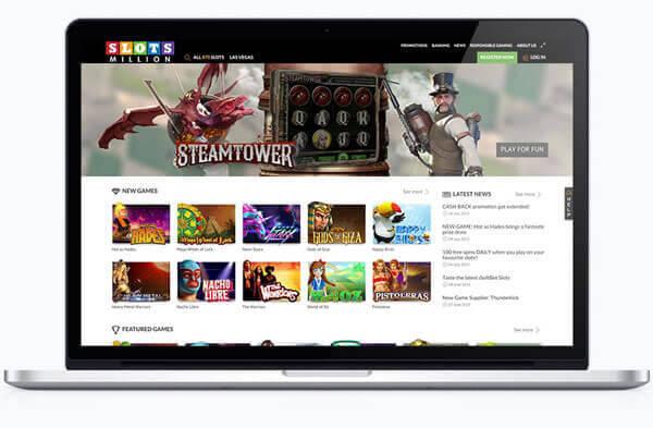 SlotsMillion das beste deutsche Online Slot Automaten Casino für Deutsche Spieler. Finden Sie Ihre Lieblings Virtual Reality Games
